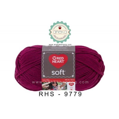 Red Heart Soft #9779 (Berry)